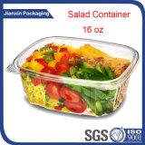 明確なペット使い捨て可能なプラスチックサラダ容器
