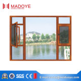 Foshan Heiß-Verkauf Flügelfenster-Fenster mit Netzen für Landhaus
