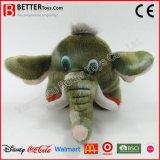 ASTM 아이를 위한 귀여운 박제 동물 견면 벨벳 연약한 코끼리