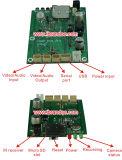 Carte mère de la carte SD 1080P 1CH DVR de support