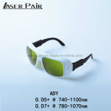 De hoge Bril van de Veiligheid van de Bescherming van de Laser van de Veiligheid Alexandrite 808&980nm Beschermende brillen van de Veiligheid van het Oog van de Glazen van de Bescherming van de Machine van de Laser van Dioden Beschermende, de Bril van de Veiligheid