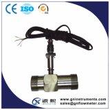 Compteur de débit liquide de turbine de l'eau