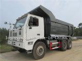 HOWO 60t 덤프 트럭, 탄광 팁 주는 사람 트랙터 트럭