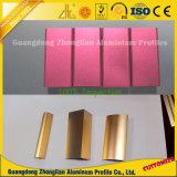 알루미늄 제조자 공급 까만 은 황금 Champagne에 의하여 양극 처리되는 알루미늄
