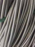 Tuyau métallique flexible ondulé en acier inoxydable
