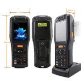Terminal Handheld Android com impressora, varredor do código de barras, leitor de RFID (PDA3505)