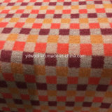 Tela de lana de estilo mosaico colores cálidos