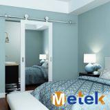 Edelstahl-Badezimmer-Stall-Schiebetür Hardwaretrack Tür-Befestigungs-Zusatzgeräten-System