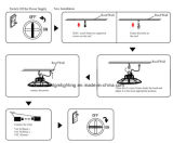 2017 Dlcul Ce het LEIDENE van het UFO Goedgekeurde 125lm/W AC100-277V en AC180-528V UL van RoHS Premie 200W Hoge Licht van de Baai