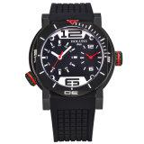 La casella di vigilanza di marca del quarzo di Digitahi degli uomini, acciaio inossidabile impermeabile mette in mostra il grande lusso della manopola degli orologi automatico