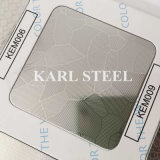 高品質201のステンレス鋼カラーKet011はシートをエッチングした