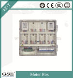 Waterproof IP44 Metal Electricity Meter Box / Single Eight Posição Meter Box