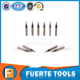 Alta precisión vendedora caliente 2 herramientas que muelen del metal de las flautas