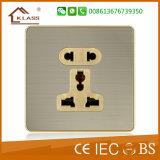 16A 2 interruptor de la pared de la luz del pulsador de la manera de la cuadrilla 2
