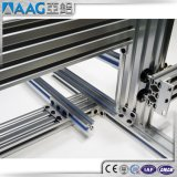 perfil de aluminio de la protuberancia del carril de la ranura de 40X40 T para la mesa de trabajo