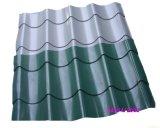 Folha vitrificada PVC colorida do telhado da extrusora profissional que faz a máquina