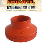 Ajustage de précision de pipe Grooved approuvé de FM/UL de Reducerm. concentrique