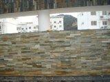 Multicolor панель камня шифера для плакирования стены