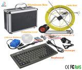 Heißer Verkaufs-wasserdichte Rohr-Inspektion-Fühler-Kamera mit dem 80-160m Kabel