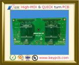 2-28 tarjeta de circuitos impresos de múltiples capas del orificio de la impedancia Control+Half de la tarjeta del PWB de la electrónica para la terminal Handheld de la posición de WiFi
