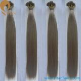 Cheveux humains pré métallisés de cheveu de Remy de Vierge d'offre d'usine