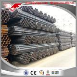 Cerca con poco carbono negra de Dn50 ERW y tubo de acero de la construcción