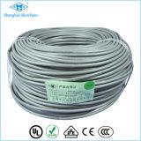 Cable de Rvv del aislamiento del PVC de múltiples núcleos 300 / 500V