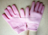 La STAZIONE TERMALE Supple della pelle che idrata ammorbidice i guanti del gel del cotone di bellezza