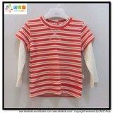 둥근 목 아기 의복 OEM 유아 t-셔츠