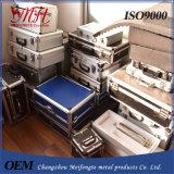 Caso & casella di alluminio su ordinazione con rivestimento interno su ordinazione
