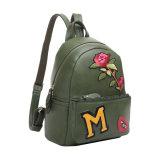 Bolsa de mochila para mulheres com estilo preto Casual Preppy Style (MBNO041003)