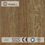 Rétro plancher résistant à l'usure de vinyle de Clourful de couplage