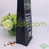 Sacs de café personnalisés de bas du cadre 1kg avec l'impression noire