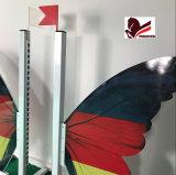 Land-Markierungsfahnen-Erscheinen-springendes Gerät Deutschland des Pferden-Erscheinen-Sprung-Sprung-Flügel-Erscheinen-Ringw-28