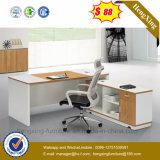 현대 L 모양 나무로 되는 책상 MDF 행정실 테이블 (HX-6M236)