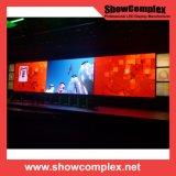 Farbenreicher P3.9 Innenbildschirm der miete-LED