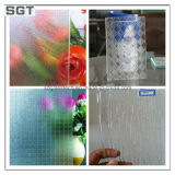 2mm 4mm 6mm con diseño y ácido vidrio grabado con Ce SGS para la construcción