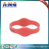 Wristbands impermeáveis da freqüência dupla RFID para centros de aptidão