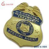 Подгонянный фабрикой значок воиска/полиций металла