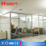 Porta de isolamento popular da divisória de vidro para o uso do escritório