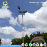 Pure White 80W-120W Solar Street Light com luz LED
