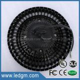 2017년 Dlcul 세륨 RoHS 우수한 승인되는 125lm/W AC100-277V와 AC180-528V UL UFO 200W LED 높은 만 빛