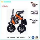 CE 12-Inch pliant le vélo électrique de vélo de bicyclette électrique de /Electric