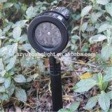 14PCS Swithableパターンスライドが付いている防水LEDプロジェクターライト