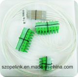 Gpon Telecommunication  2X8 Blockless  Splitter PLC
