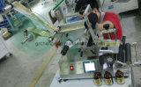 De semi Auto Ronde Machine van de Etikettering van de Fles Zelfklevende