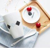 卸し売り昇進のスプーンおよびふたが付いているカスタムロゴ11ozの白いコーヒー・マグ