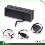 외부 임명 및 Aamva Msr100 자석 줄무늬 카드 판독기를 지원하는 RS232/USB 공용영역