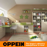 A mobília personalizada Eco-Friendly do quarto dos miúdos da mobília das crianças de Oppein ajustou-se (OP16-KID01)
