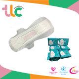 Serviette hygiénique négative populaire d'ion de garnitures sanitaires avec l'ADL